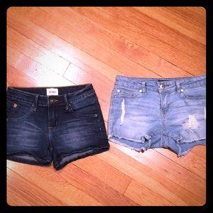 Girls Hudson & DKNY Jean Shorts